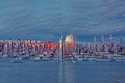 Landscapes Photo Prints - Three Times New York City Print by Susan Candelario