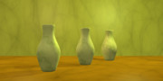 Gabiw Art - Three Vases II