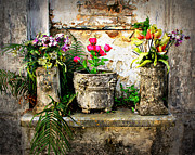 Grave Photos - Three Vases by Perry Webster