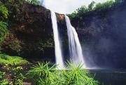 Three Waterfalls Print by Peter French - Printscapes