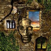 Hope Digital Art - Three windows one lies by Franziskus Pfleghart