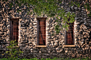 Tamyra Ayles Metal Prints - Three Windows Metal Print by Tamyra Ayles