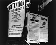 Ww Ii Framed Prints - Three World War Ii Public Notices Framed Print by Everett