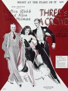 Trio Photos - Threes A Crowd, 1930 by Granger