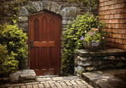 Entrance Door Digital Art Posters - Threshold Poster by Jessica Jenney
