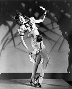 Bare Midriff Prints - Thrill Of Brazil, Ann Miller, 1946 Print by Everett
