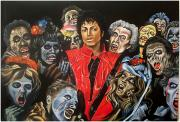 Thriller Painting Originals - Thriller by Jeremy Worst