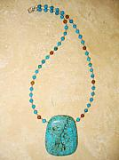 Inspirational Jewelry - Throat Chakra Necklace by Treasure-Tob E