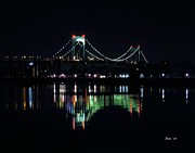 Dale Ford Acrylic Prints - Throggs Neck Bridge Acrylic Print by Dale   Ford