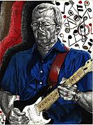 Eric Clapton Art - Through It All by Kelvin Winters
