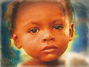 Child Mixed Media - Through My Eyes by Bob Salo