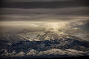 Sangre De Cristo Mountains Posters - Through the Clouds Poster by Timothy Johnson