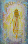 Prophetic Paintings - Through the Door  by Anne Cameron Cutri