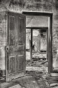 Old Houses Metal Prints - Through the Doors of Time Metal Print by JC Findley