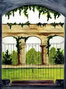 Through The Gates Print by Michael Vigliotti