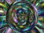 Fanciful Digital Art - Through The Looking Glass by Tim Allen