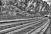 Harpers Ferry Photos - Through the Mountains by JC Findley
