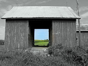Illinois Barns Photo Prints - Through the Years Print by Claude Oesterreicher