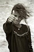 Photojournalism Prints - Thumbs Up Print by Eric Foltz