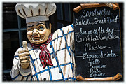 Chef Hat Framed Prints - Thumbs Up Framed Print by Sophie Vigneault