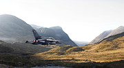 Military Aircraft Prints - Thunder in the Glen Print by Pat Speirs