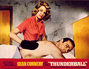 Masseur Art - Thunderball, Molly Peters, Sean by Everett