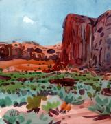 Thunderbird Originals - Thunderbird Butte by Donald Maier