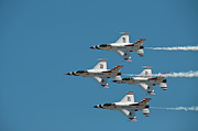 Usaf Photo Posters - Thunderbird Diamond Poster by Dan McManus