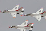 Trio Photo Originals - Thunderbird trio 2 by Eddie Freeman