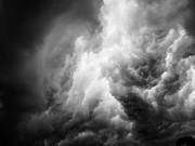 Contrasty Acrylic Prints - Thunderclouds Acrylic Print by Hakon Soreide