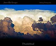 Thunderhead Photos - Thunderhead Cloud Color Poster Print by James Bo Insogna