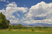 Thunderheads Art - Thunderstorm Clouds Boiling Over The Colorado Rocky Mountains by James Bo Insogna