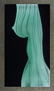 Nude Girl Glass Art Originals - Thuno by Akoko Okeyo