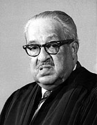 Thurgood Prints - Thurgood Marshall 1908-1993 Associate Print by Everett