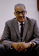 Thurgood Prints - Thurgood Marshall 1908-1993, On June Print by Everett