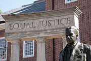 Thurgood Prints - Thurgood Marshall Memorial in Annapolis Print by William Kuta