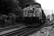 Train Depot Photos - Thurmond Train by Thomas R Fletcher