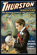 Magician Posters - Thurston the Great Magician Poster by Unknown