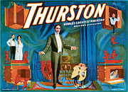 Tricks Posters - Thurston Worlds Greatest Magician Poster by Unknown
