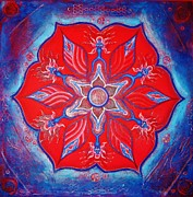 Spiritual Art Reliefs - THY WILL ... be done by Kristi Ann