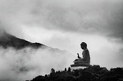 Buddhism Photo Posters - Tian Tan Buddha Poster by picture by Chris Kench Photography