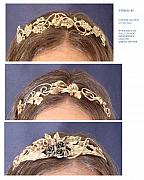 Vines Jewelry - Tiara Headband by Connie Colten