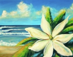 Inspirational Paintings - Tiare by Hanako Hawaii