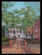 Edward Williams Prints - Tiber Park Print by Edward Williams