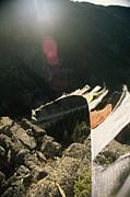 Tibetan Buddhist Prayer Flags Print by Gordon Wiltsie