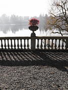 Balusters Framed Prints - Ticino river Framed Print by Cristina Lichti