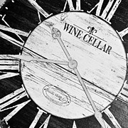 Wine Cellar Photos - Tick Tock by Shera Hastings