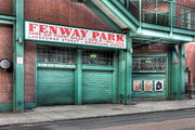Fenway Park Posters - Ticket Windows Poster by Clarence Holmes