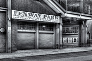 Fenway Park Prints - Ticket Windows II Print by Clarence Holmes