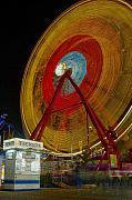 Amusement Ride Framed Prints - Tickets Framed Print by David Lee Thompson